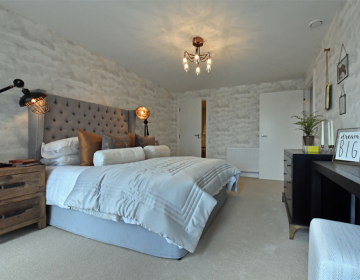 shared ownership property bedroom