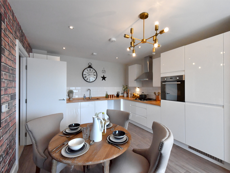 shared ownership property kitchen