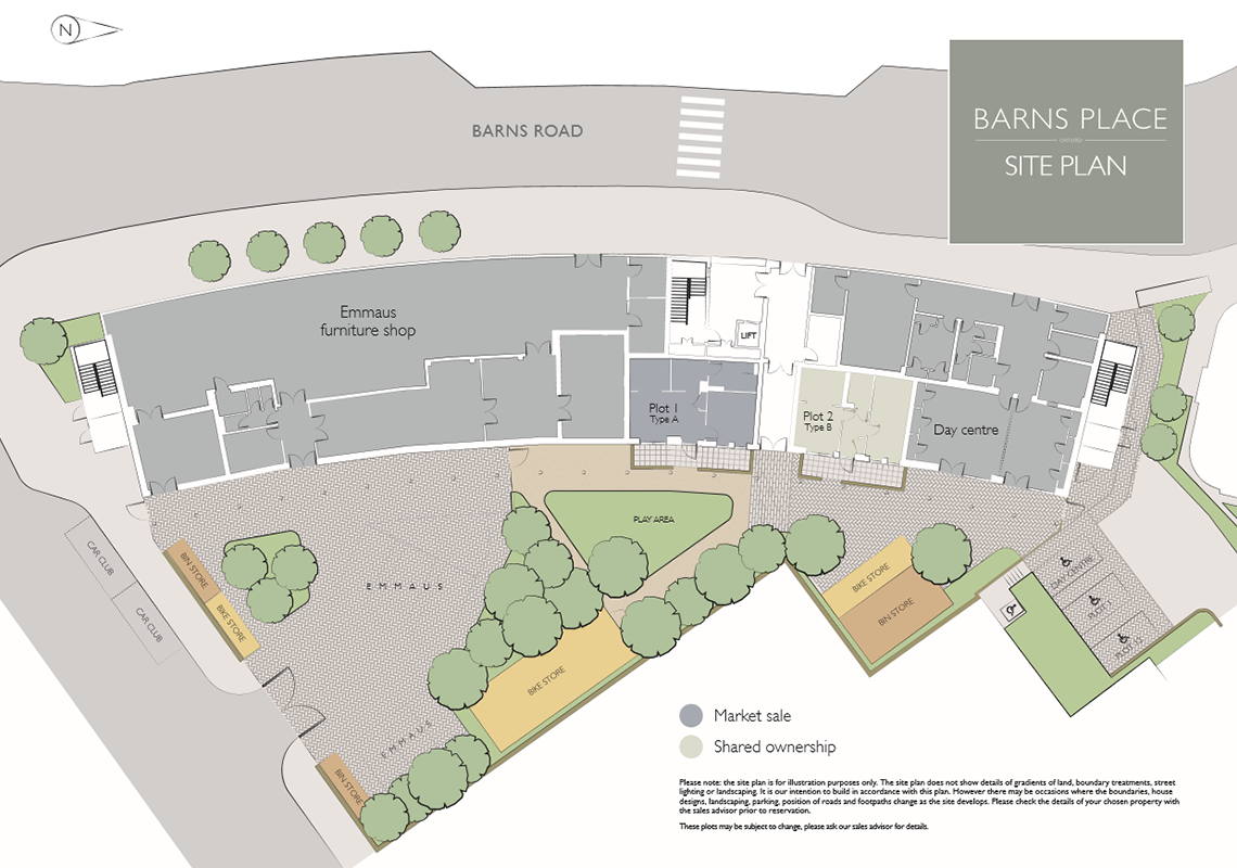 barns place site plan