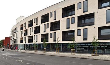 new apartments exterior