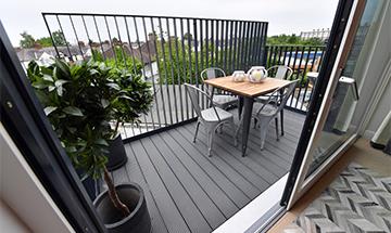 new home balcony