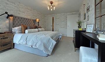 new home bedroom